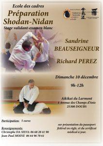 Aïkido Stage Préparation 1-2 Dan @ 25300 DOUBS