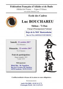 Stage Aikido à Bantzenheim @ DOJO de la MJC