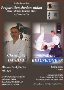 Stage d'Aïkido préparation 1er et 2éme Dan à Danjoutin. @ 90400 DANJOUTIN