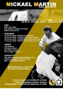 Stage Aïkido et Aïkitaïso avec Mickael Martin à DANJOUTIN @ 90400 DANJOUTIN