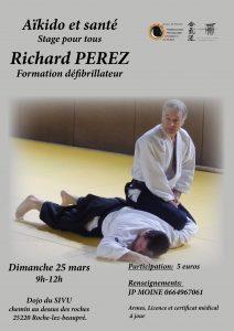 Stage Aïkido et Santé à Roche-lez-beaupré @ 25220 ROCHE-LEZ-BEAUPRE