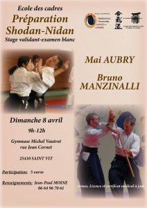 Stage Aikido Prépa. 1er et 2ème Dan  à Saint-Vit @ 25410 SAINTT VIT