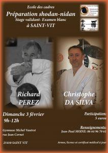 Stage Aikido Préparation 1er et 2ème Dan à ST VIT @ Rue Jean Cornet