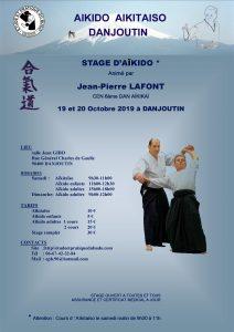 Stage Aikido à DANJOUTIN le 19 et 20 Octobre 2019 @ Dojo Salle J. GIBOT