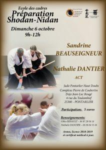 Stage Aikido Préparation 1er et 2ème Dan à ST VIT @ Dojo Jean-Luc Rouge