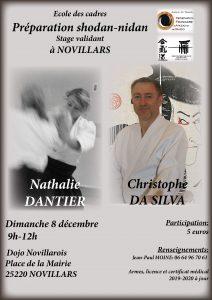 Stage Aikido Preparation 1 et 2 Dan @ DOJO Novillarois