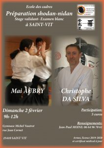 Stage Aikido Preparation 1 et 2 Dan @ Gymnase Michel VAUTROT