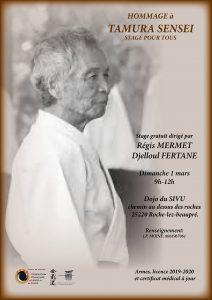Stage hommage à Tamura Sensei le 1er Mars à Roche-Lez-Beauprés @ DOJO DUSIVU