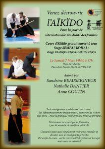 Stage Aikido pour tous le 7 Mars 2020 @ Dojo Novilarois
