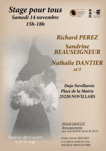 Stage AIKIDO POUR TOUS à Noviillars @ Dojo Novillarois